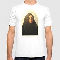 Magdalena Mens Fitted Tee White SMALL