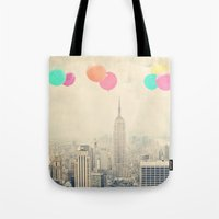 Balloons over the City Tote Bag