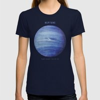 Neptune Womens Fitted Tee Navy SMALL