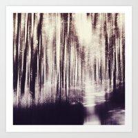 Magical Woods Art Print