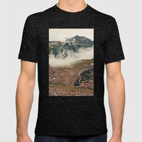 Mountain Hike Mens Fitted Tee Tri-Black SMALL