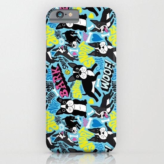 Boston Terrier Pattern iPhone & iPod Case