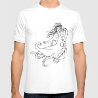 Seawitch Mens Fitted Tee White SMALL