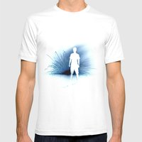 Fire Fountain Mens Fitted Tee White SMALL