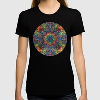 Groovy Baby! Womens Fitted Tee Black SMALL