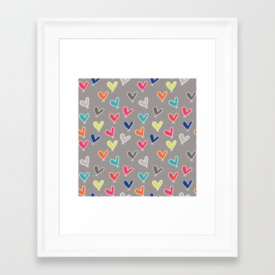 Blow Me One Last Kiss Framed Art Print
