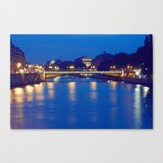 Paris by Night I Canvas Print