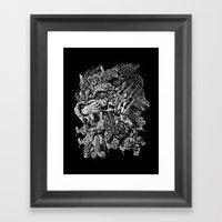 Jaguar Warrior Framed Art Print