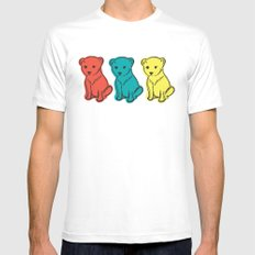 Little Lion Men SMALL Mens Fitted Tee White