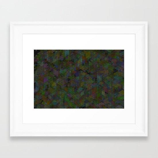 Panelscape - #7 society6 custom generation Framed Art Print