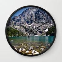 Phantom Lake Wall Clock