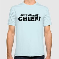 Chief Mens Fitted Tee Light Blue SMALL