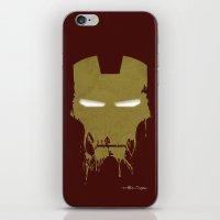Iron Dirty Man iPhone & iPod Skin