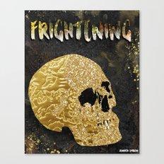 Frightening Canvas Print