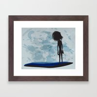 overlooking Framed Art Print
