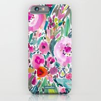 Pink Pow Wow Floral iPhone 6 Slim Case