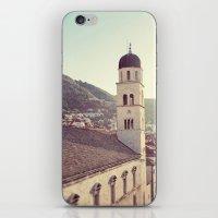 Belltower In Dubrovnik iPhone & iPod Skin