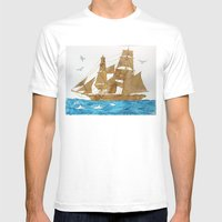 Accompanied - Acompañad… Mens Fitted Tee White SMALL
