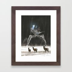 1920 - stranger in the wood Framed Art Print