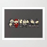 Red Dwarf Art Print