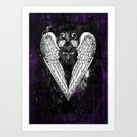 Punk Heart Art Print