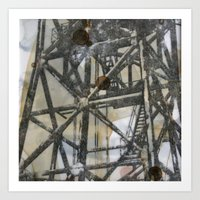 Tower On Mylar  Art Print