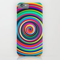 iPhone Cases featuring CIRCUS by THE USUAL DESIGNERS