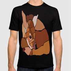 Little Bambi SMALL Mens Fitted Tee Black