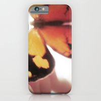 iPhone & iPod Case featuring Flutter by Tess Goding
