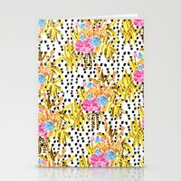 Patterned Bouquet II Stationery Cards