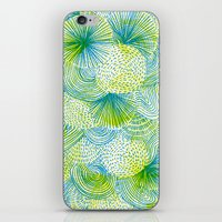 Space Lime iPhone & iPod Skin