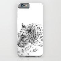 Leopard - Glance back iPhone 6 Slim Case