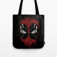 FanArtDeadpool  Tote Bag