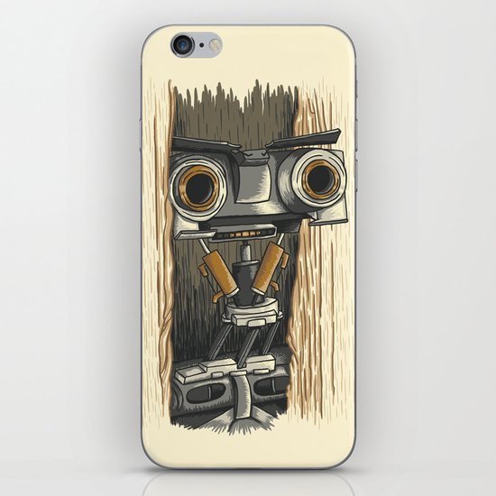 Here's Johnny 5! iPhone & iPod Skin