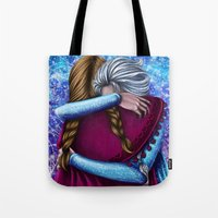 Anna And Elsa ~Frozen Tote Bag