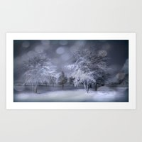 Thursday Winter's Night Art Print
