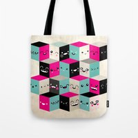 The Many Faces Of Cute Tote Bag