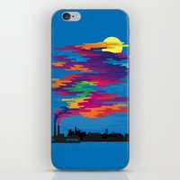 Hidden in the Smog (day) iPhone & iPod Skin