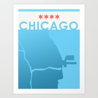 Minimalist Chicago Art Print