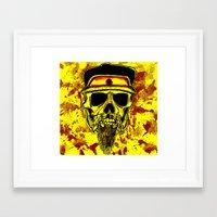 Thrash-Maniac Framed Art Print
