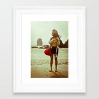 journey Framed Art Print