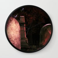 Sunset Stones (version 2) Wall Clock