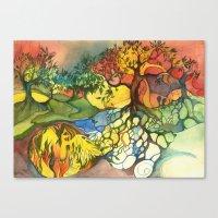 Birth Canvas Print