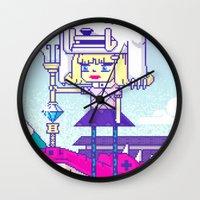 Dakota X Wall Clock
