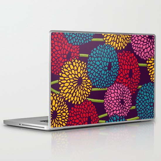 Full of Chrysant Laptop & iPad Skin
