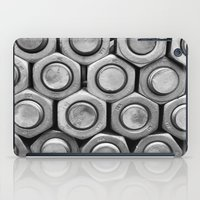 STUDS (b&w) iPad Case