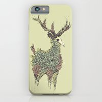 iPhone & iPod Case featuring Beautiful Deer Old by dvdesign