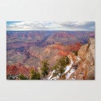 Grand Canyon Evening Hues Canvas Print