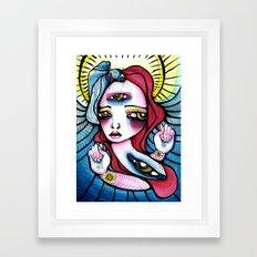 Spindle Framed Art Print