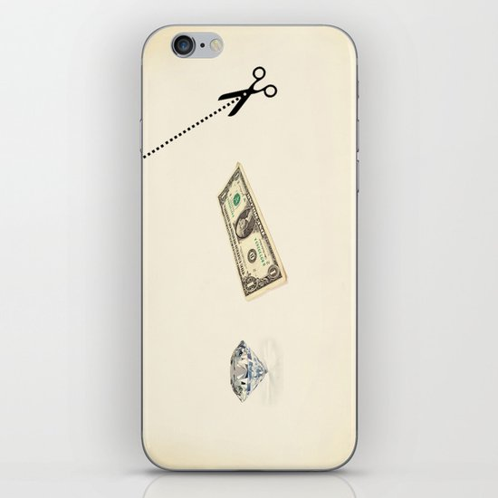 rock, paper, scissors iPhone & iPod Skin